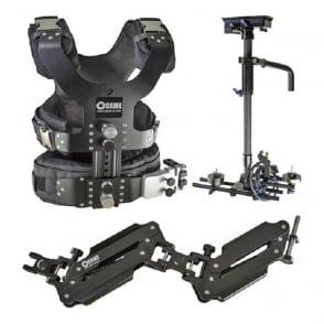 CAME-TV LBVL4ALBS1 2.5-15kg Load Pro Camera Steadicam Video Carbon Stabilizers