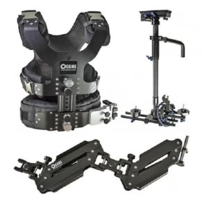 LBCASEKIT 2.5-15kg Load Pro Camera Steadicam With Aluminum Case