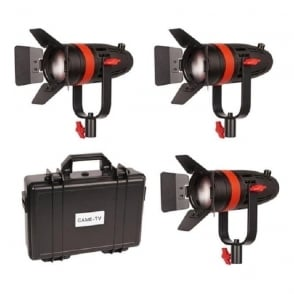F-55W-3KIT 3 Pcs Boltzen 55w Fresnel Focusable Led Daylight