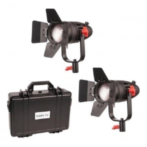 CAME-TV B30-2KIT 2 Pcs Boltzen 30w Fresnel Fanless Focusable Led Daylight