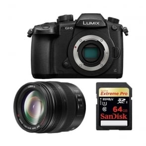 Panasonic 4K 60p/50p lumix GH5 Mirrorless Camera package b