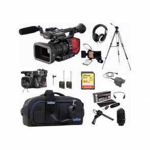 Panasonic PAN-AGDVX200 4K 4/3 type Fixed lens Camcorder package E