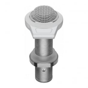 ES947WLED White Equipped Table-Mount Boundary Microphone With Mute Switch/Led