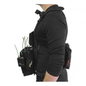 Portabrace ATV-688 Audio Tactical Vest Sound Devices 688 Black