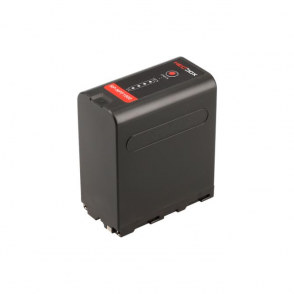 HedBox RP-NPF1000 High Capacity Lithium Battery Pack with 4-LED Power Monitor