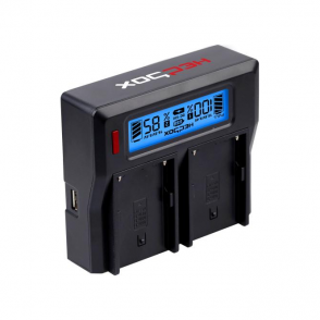 HedBox RP-DC50 Intelligent Dual Digital LCD Battery Charger