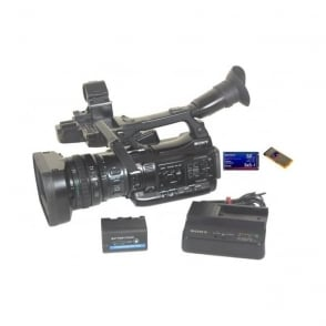 Sony PMW-200 Camcorder 1580 Hours With Charger and BP-U30 style Battery, Used
