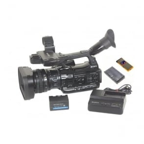 Sony PMW-200 Camcorder 1353 Hours With Charger and BP-U30 style Battery, Used
