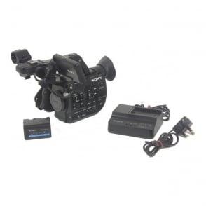 Sony PXW FS5 4K Super 35 Exmor CMOS Sensor E-Mount Camera 400 hours, Used