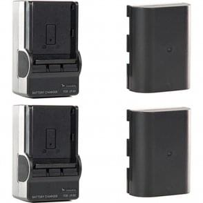 Shape SH-GBLPTS Shill LP-E6 Li-Ion Battery Pack and Charger Kit (2-Pack)