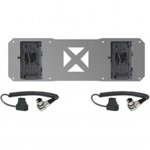 Shape 2 x V-Mount Plates & D-Tap Cables for Atomos Sumo