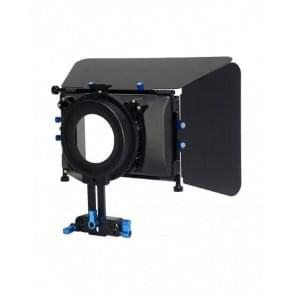 CAME-TV LM3 DSLR Mattebox 15mm Rod Adapter With Flag