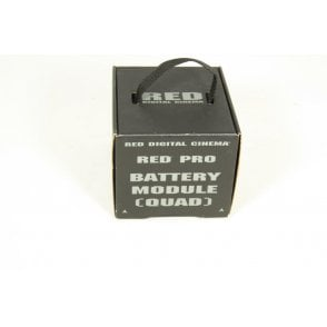 RED Digital Cinema PRO Battery Module Quad DSMC1, Dragon, Epic, NEW