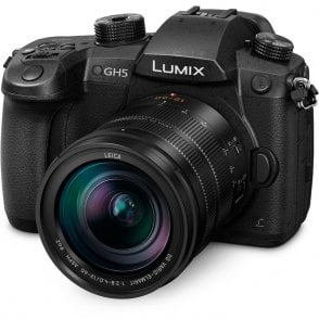 Panasonic PAN-DCGH5LEB-K GH5 Compact System Camera with 12-60mm f2.8-4 Leica Lens