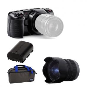 Blackmagic BMD-CINECAMPOCHDMFT4K Pocket Cinema Camera 4K package C