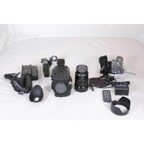 Sony PXW FS5K 4K Super 35 Camera E-Mount 18-105mm Zoom Lens 300 hours Used