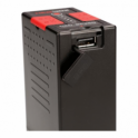HedBox Info-Lithium Battery Pack with 4-LED Power Monitor