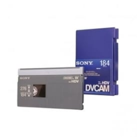 PDV-184N Professional DVCAM Memory Chipped Tapes