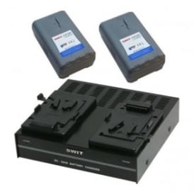 SP-172/304S 2 x Batteries plus 1 x charger