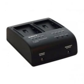 S-3602M sony np-qm style dual channel seqeuntial charger / ac adapter