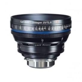 1875-600 Compact Prime CP.2 25mm / T2.1 PL Mount Lens