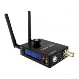 CUBE-555 1ch Composite Encoder, OLED, Li-Ion Built in 2.4G/5.8G WiFi, mic input, USB, microSD