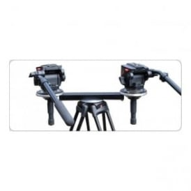 THM100 Twin Head Tripod Mount 100mm Bowls