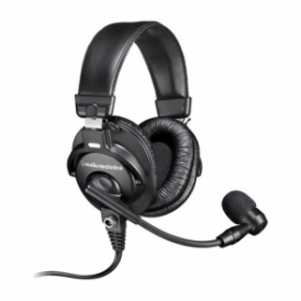 BPHS1 Broadcast Stereo Headset with Dynamic Boom Microphone