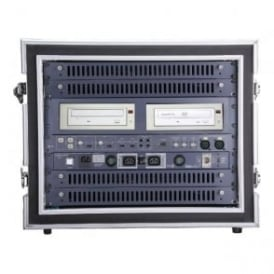 "HOL-HDRC8U Heavy Duty 19"""" Anti-Shock Rack Case - 8u"