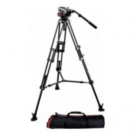 Manfrotto 504Hd 546Bk Midi Twin System(MS)