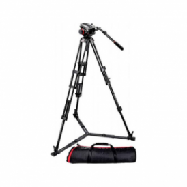 Manfrotto 504Hd-546Gbk Midi Twin System(Gs)