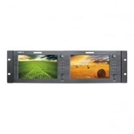 "M-1071C 2 x 7"" lcd monitor 1024x600 hdmi/cvbs"