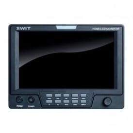 """S-1071C 7"""" HDMI/CVBS on-camera monitor"""