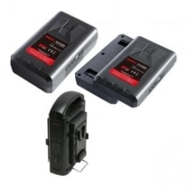 Swit SP-192/302A 2 x batteries plus 1 x charger