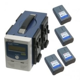 SP-172/3004S 4 x batteries plus 1 x channel charger
