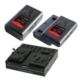 SP-192/304S 2 x batteries plus 1 x charger