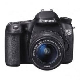 EOS-70D 20.2MP Digital SLR Camera - body only