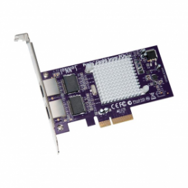 Sonnet SON-GE1000LA2XA-E  presto gigabit ethernet server 2-port pcie card