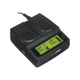 RP-DC20 Digital Dual Battery Charger