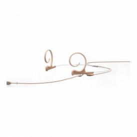 FIOF00-2 d:fine Dual-Ear Omni Headset Mic, Beige, 110 mm Boom, MicroDot