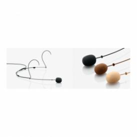 4088-B Directional Headset Mic, Black, MicroDot