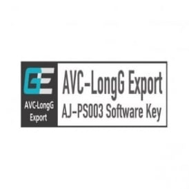 Panasonic PAN-AJPS003G Plug-in Software for AVC-Long G Export