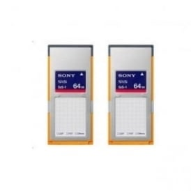 Sony 2SBS64G1A SXS 1A Memory Card for XDCAM