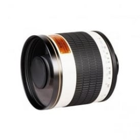 7580 500mm MIRROR F8 T-MOUNT Lens