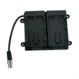 TV Logic BB 058E 7.4V Battery Bracket for Canon LP-E6 Batteries Dual