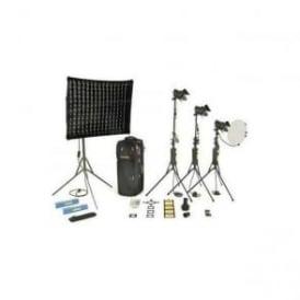 Dedolight KDS31S 1 Soft head 3 Hard heads Standard Kit
