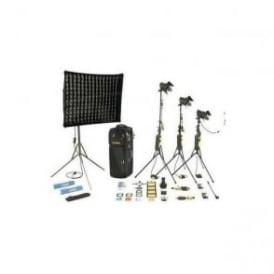 Dedolight KDS31M 1 Soft head 3 Hard heads Master Kit