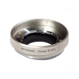 MB_CG-m43-GD2 Metabones Contax G to Micro FourThird adapter GOLD