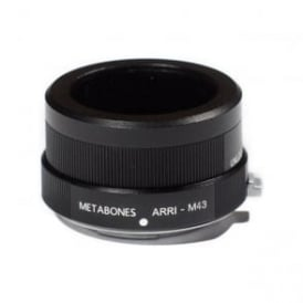 Metabones MB_Arri-m43-BM1 Arriflex to Micro FourThird adapter Black Matt