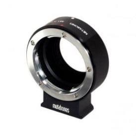 MB_MD-m43-BM1 Minolta MD to Micro FourThird adapter Black Matt